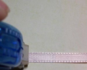Dot roller on ribbon
