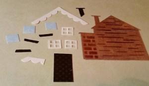 Elizabeth Crafts deconstructed house die cut