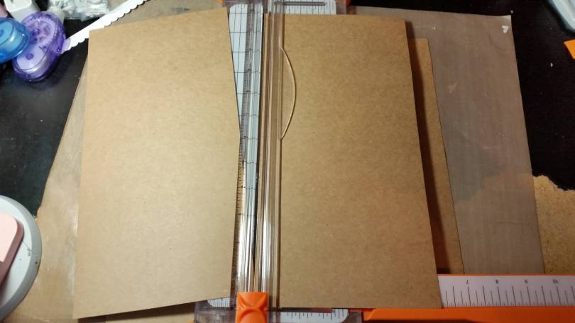 Trimming Cardstock