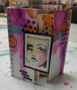 Dina Wakley Portfolio @ everything scrapbook & stamps | Lake Worth | Florida | United States