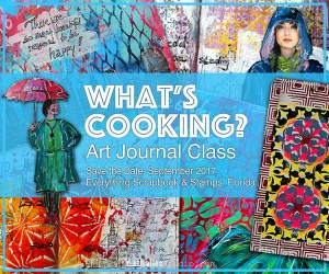 What's cooking with Nathalie Kalbach @ everything scrapbook & stamps | Lake Worth | Florida | United States
