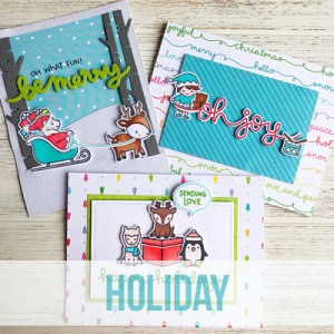 SOLD OUT Lawn Fawn - Holiday Cards with Jenn Shurkus @ Everything Scrapbook & Stamps | Lake Worth | Florida | United States