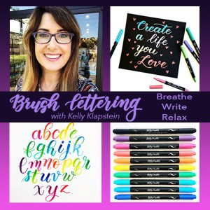 SOLD OUT Kelly Klapstein from Kelly Creates - Brush Lettering @ Everything Scrapbook & Stamps | Lake Worth | Florida | United States