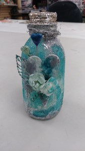 Altered Bottle @ Everything Scrapbook & Stamps | Lake Worth | Florida | United States