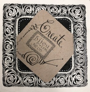 Zentangle with Leslie @ Everything Scrapbook & Stamps