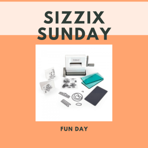 Sizzix Sunday - Class 1. Sold out @ Everything Scrapbook & Stamps