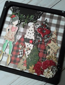 Shadow Box with Julie Nutting @ Everything Scrapbook & Stamps