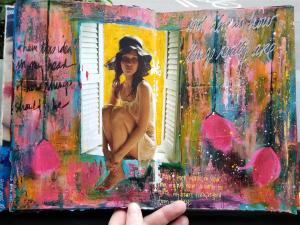 Finger Painting for Grown-Ups: A Sensory Delight - Kelly Kilmer @ Everything Scrapbook & Stamps