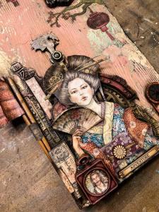 Secrets of a Geisha - Antonis @ Everything Scrapbook & Stamps