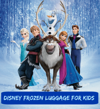 Disney Frozen Luggage for Kids