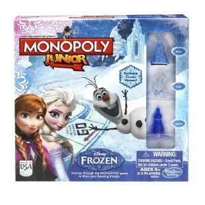 Monopoly Junior Frozen Edition Game