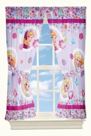 Disney Frozen Bedroom Curtains
