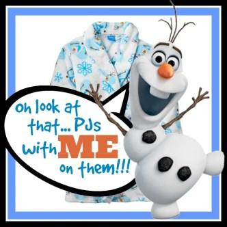 Frozen Olaf Pajamas