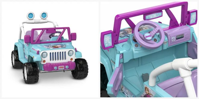 frozen jeep power wheels