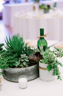 The table set up - inexpensive and beautiful!