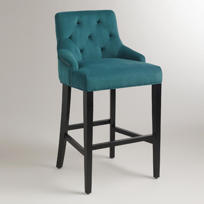 Pacific Blue Lydia Barstool Everything Turquoise