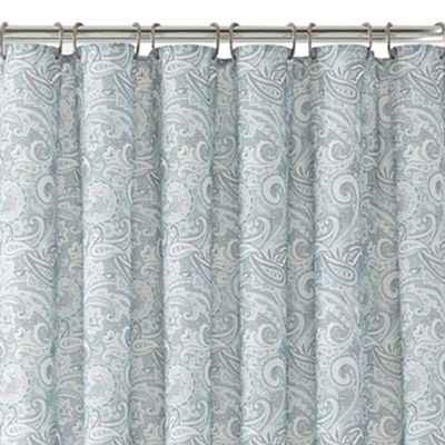 paisley shower curtain everything