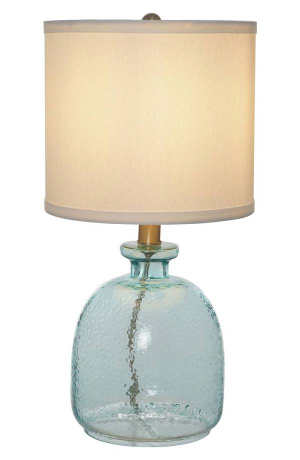 Ocean Glass Accent Lamp | Everything Turquoise
