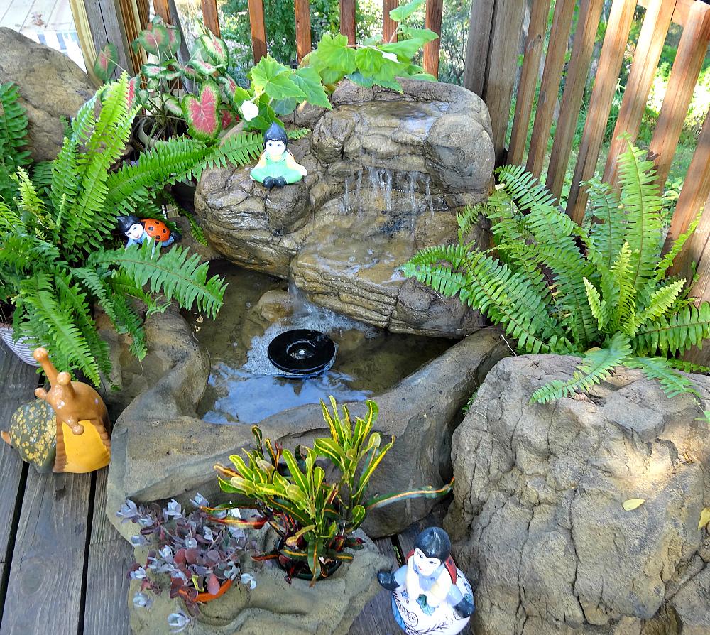 Landscape Waterfall Gallery | Backyard & Pool Rock Waterfalls on Rock Garden Waterfall Ideas id=95096