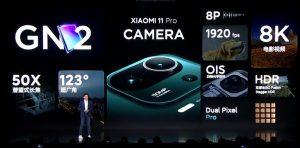 Xiaomi Mi 11 Pro camera specs