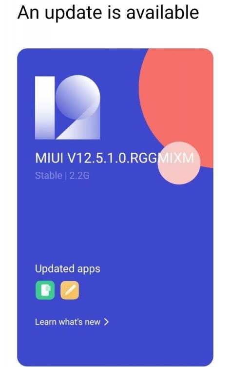 Redmi Note 8 Pro MIUI 12.5 Android 11