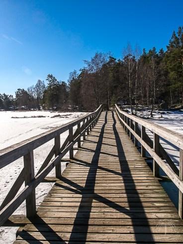 Stockholm Nacka Nature Reserve Mar 2017-18
