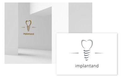Logo ontwikkeling voor implantaten kliniek