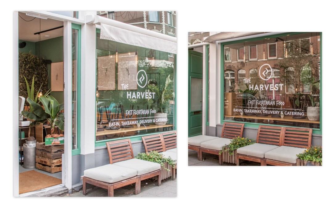 Reclame belettering – Restaurant Harvast