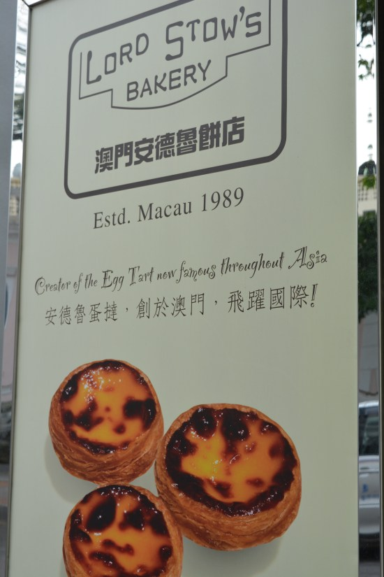 Forgot to click the picture of the Egg tart as we were so busy gulping it down