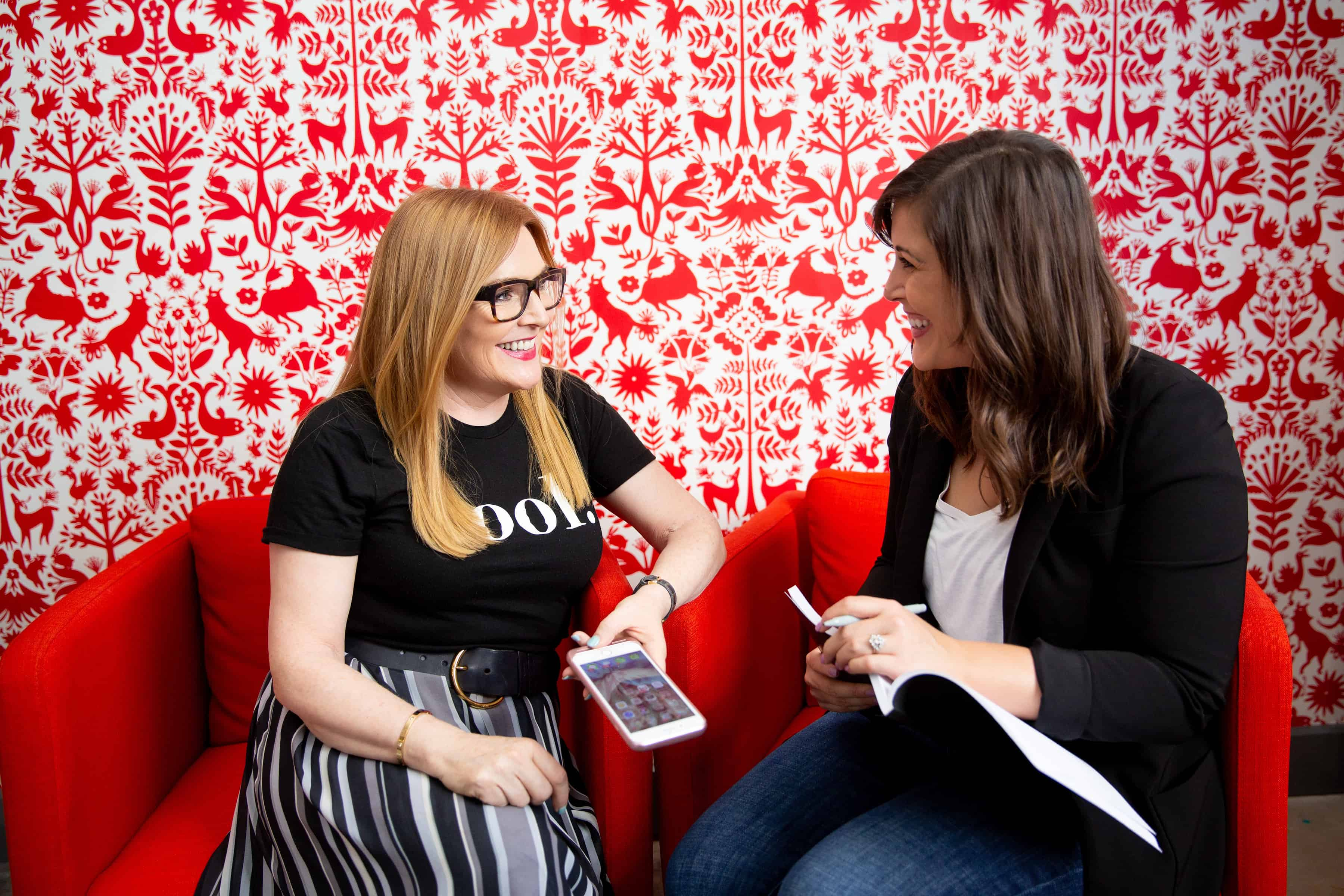 Danica Kombol, CEO and Kelly Dye, Vice President of Everywhere Agency