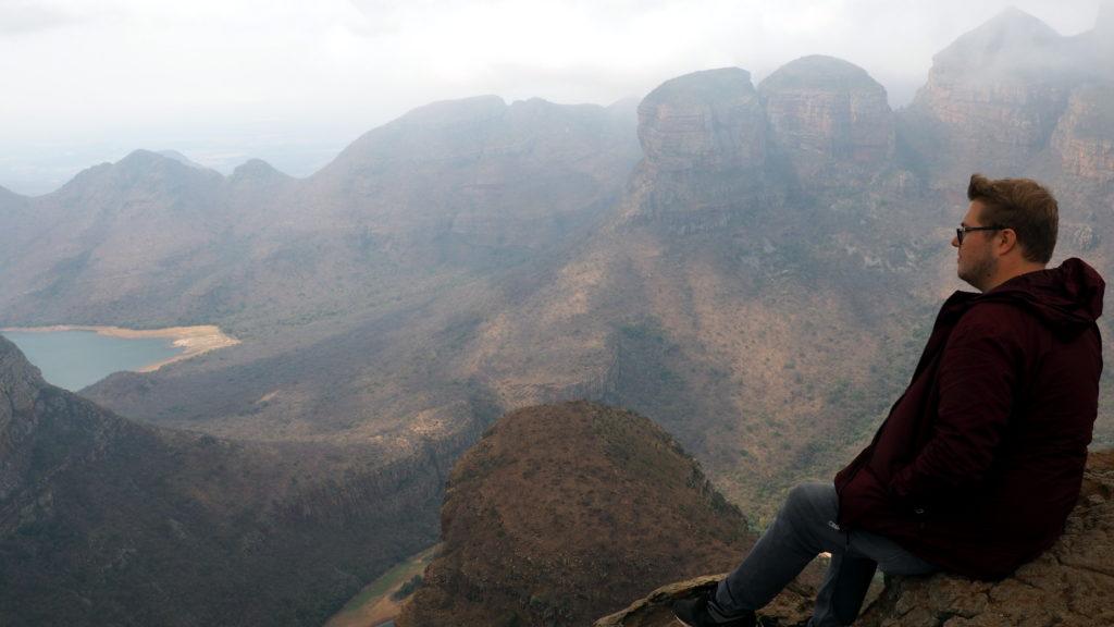 Marc Möllmann am Blyde River Canyon