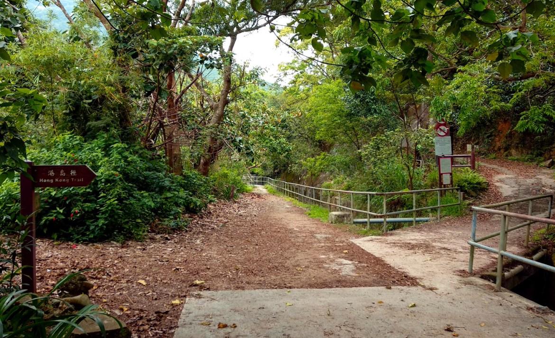 Fußweg auf den Victoria Peak