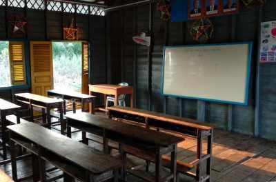 Schule am Tonle Sap
