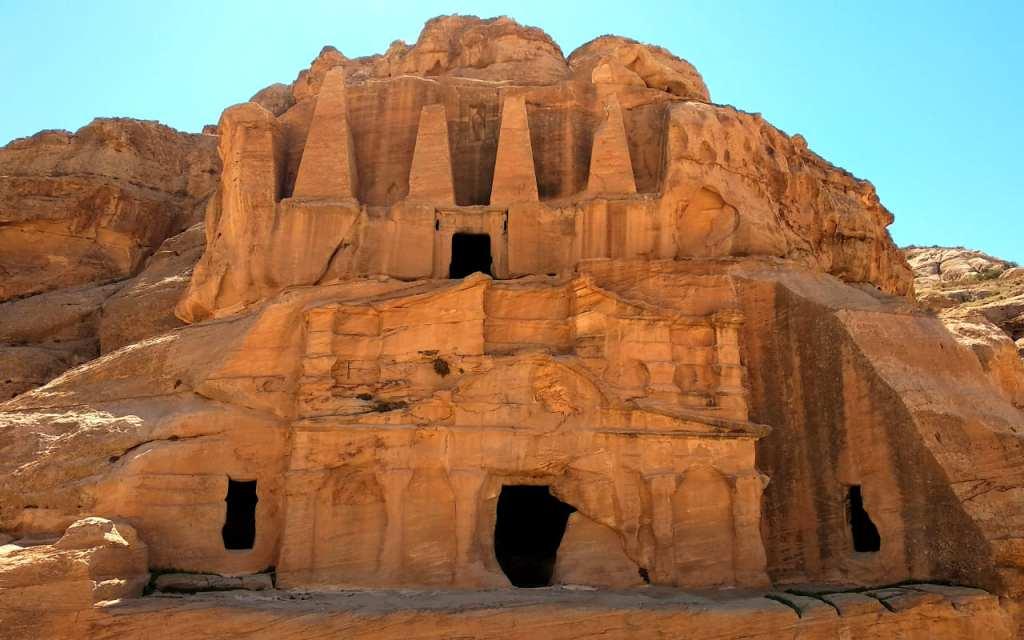Das Obeliskengrab in Petra