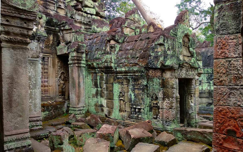 Im inneren von Preah Khan