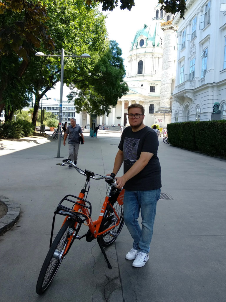 Marc Möllmann in Wien