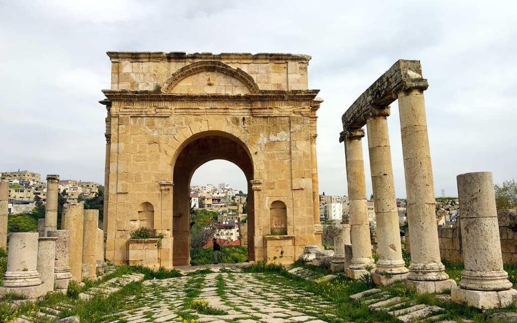 Antiker Torbogen in Jerash
