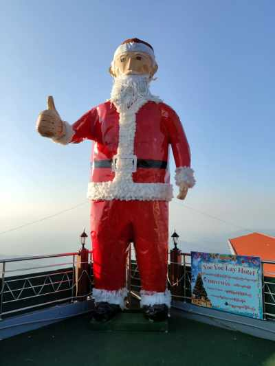 Santa Claus in Myanmar
