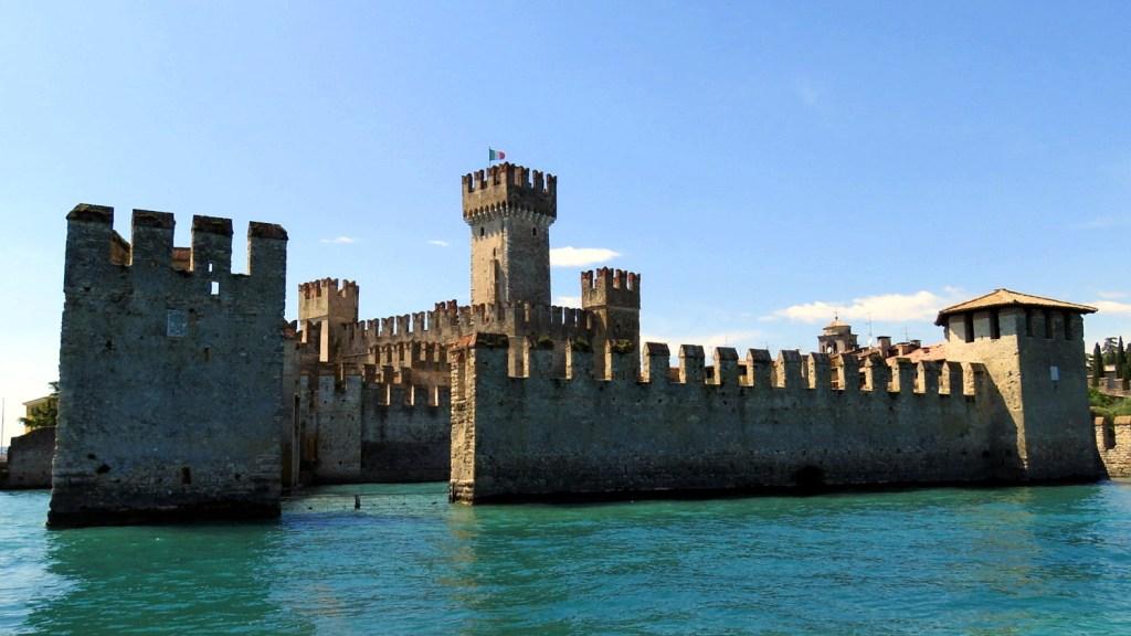 Gardasee Sehesnwürdigkeiten - Burg von Sirmione