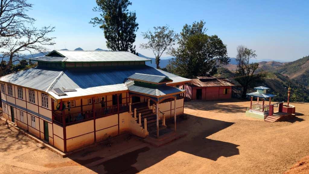 Buildings in a hilltribe village near Kalaw