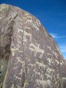 Petroglyphs somewhere in Bayan-Ulgii