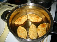 Pan-fried khuushuur
