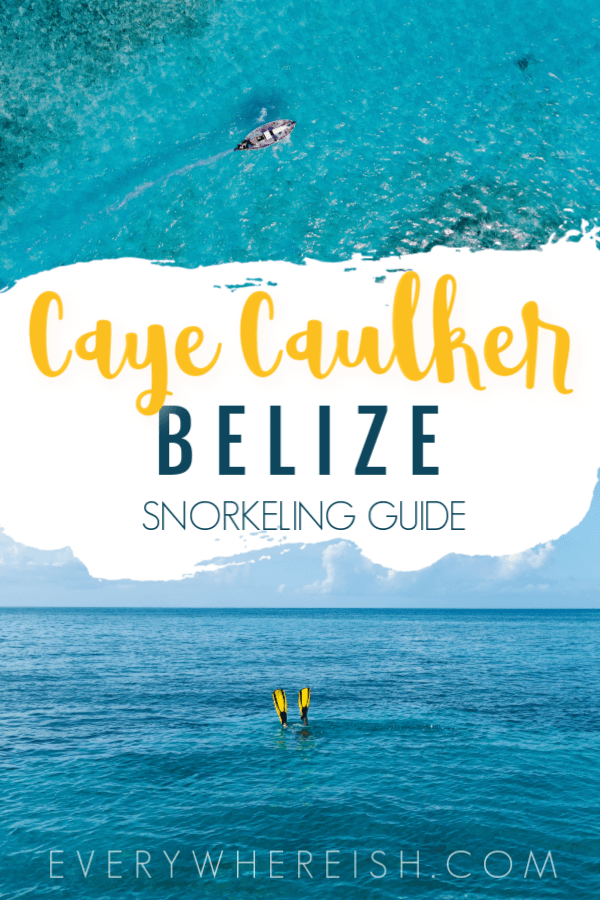 Snorkeling Caye Caulker's Hol Chan Marine Reserve with Ragamuffin Tours