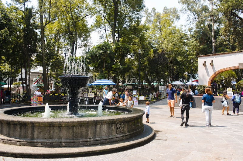 Backpacking Mexico City: San Angel Market
