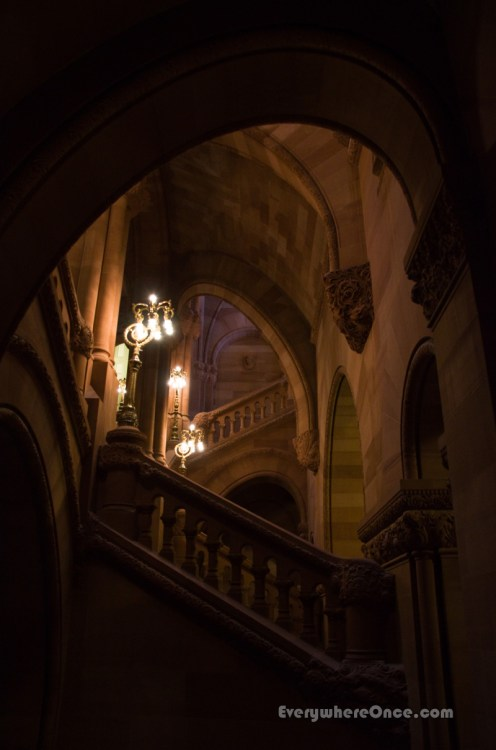 New York State Capitol Great Western Staircase 1