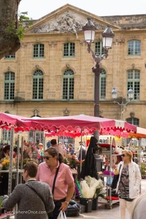 Street Maket in Aix-en-Provence