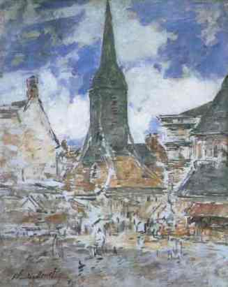 Monet Honfleur 2