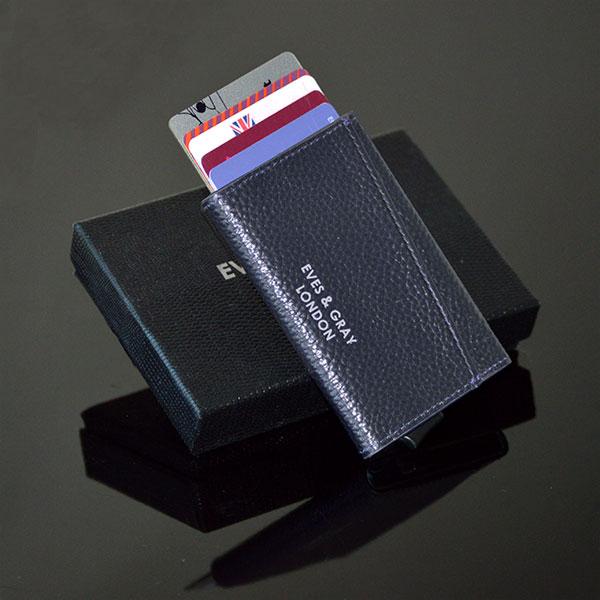 RFID Italian Leather Wallet Black 7