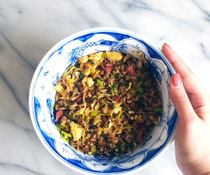 nasi goreng indonesian egg fried rice