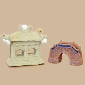 Small Building Figurines